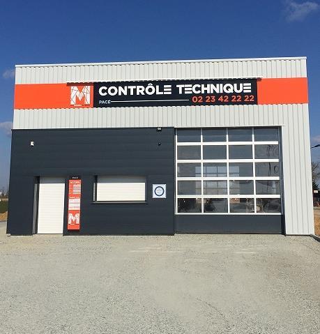 Centre de controle technique CONTRÔLE TECHNIQUE PACÉ situé proche de PACE, 35740